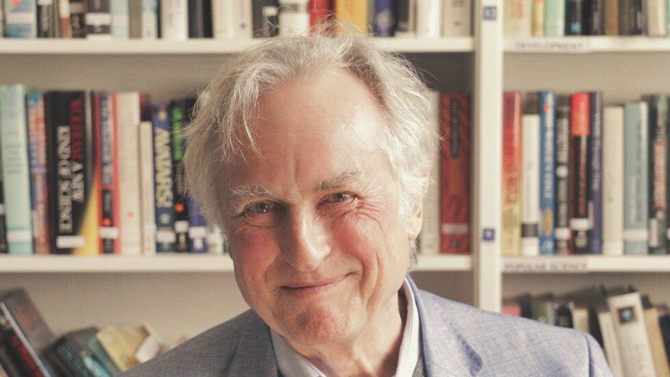 This is a photo of Richard Dawkins the UK biologist and author