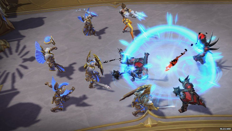 Heroes of the Storm screengrab