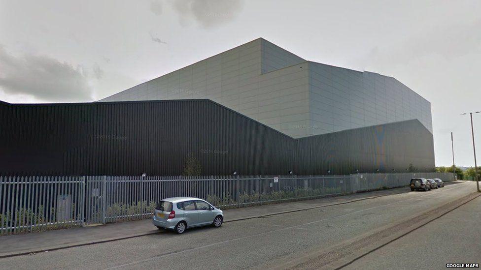 Burnley warehouse