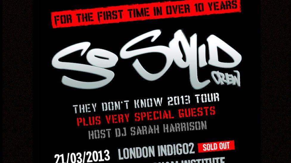 So Solid Crew re-union tour