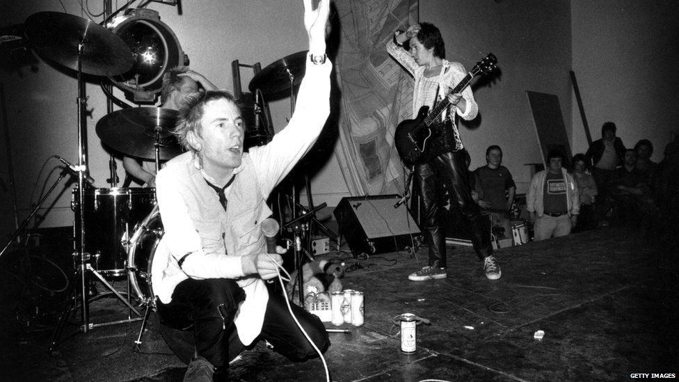 The Sex Pistols were the poster boys for the punk movement in the UK