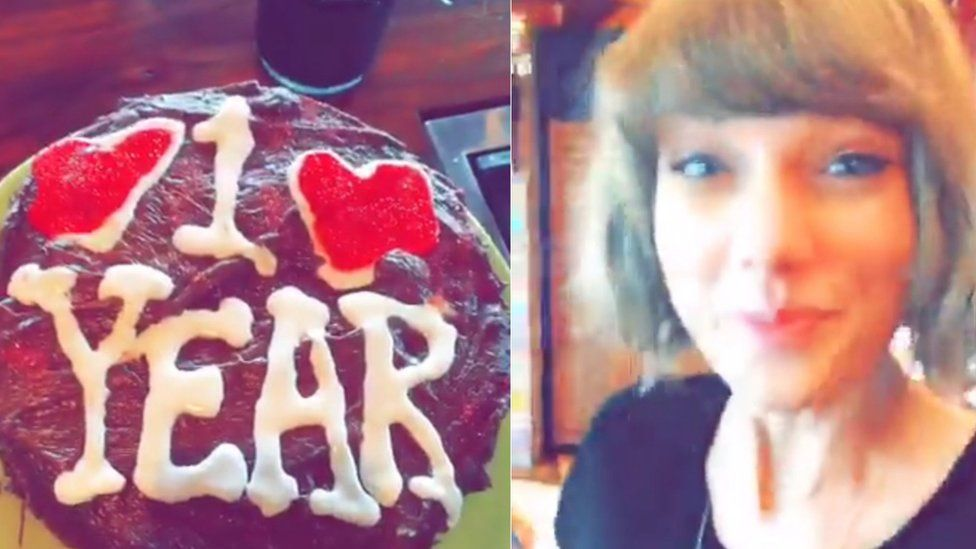 Cake and Taylor Swift