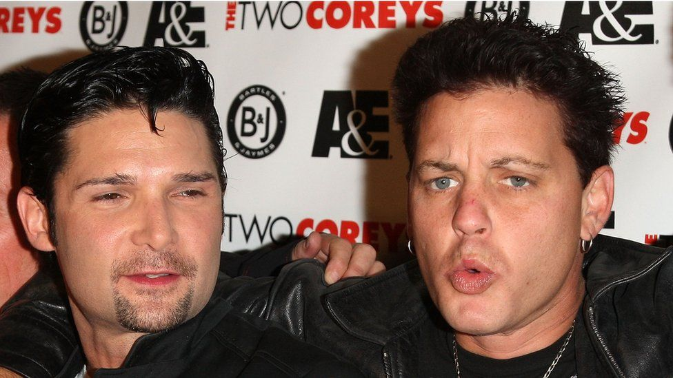 Corey Feldman and Corey Haim