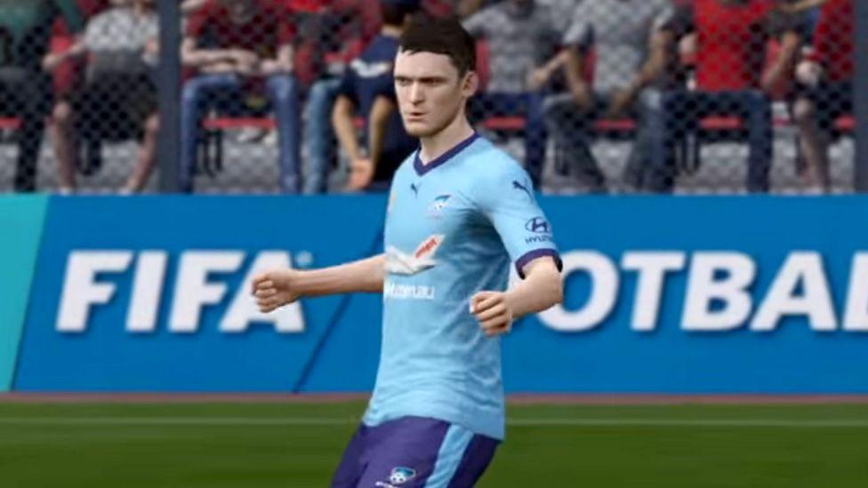 Adam Johnson in FIFA 16