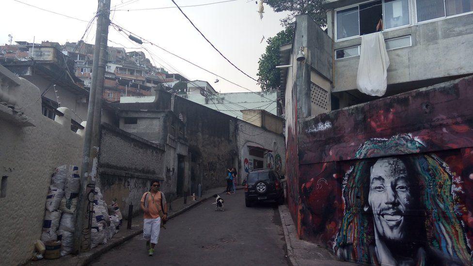 street in poor area