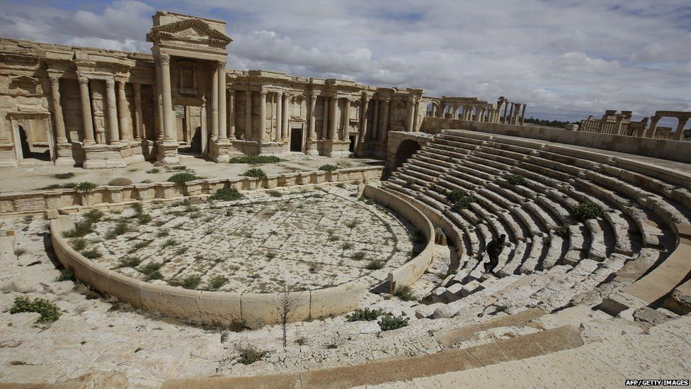 IS video 'shows murders at Palmyra'...