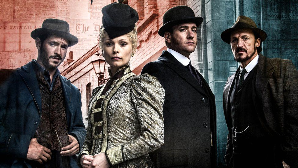 Some of the cast members of Ripper Street
