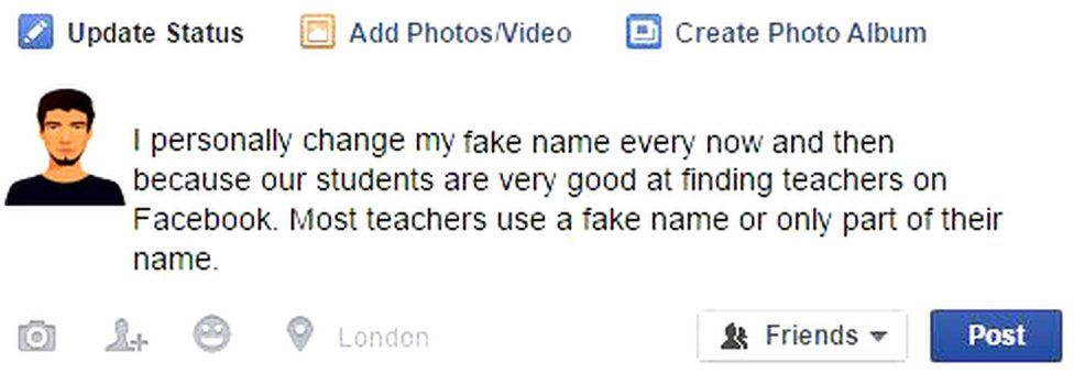 This is why some people change their Facebook names - BBC