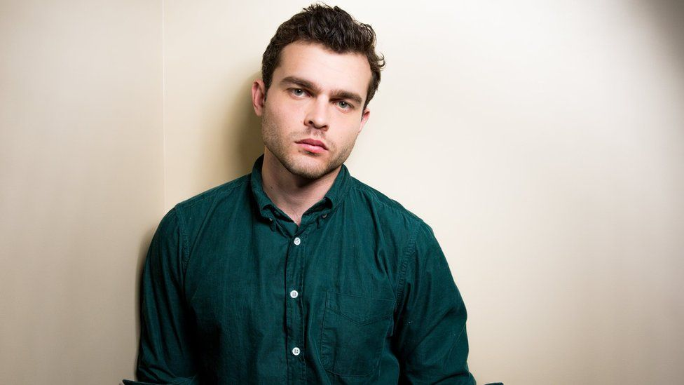 Alden Ehrenreich poses for a portrait in Los Angeles.