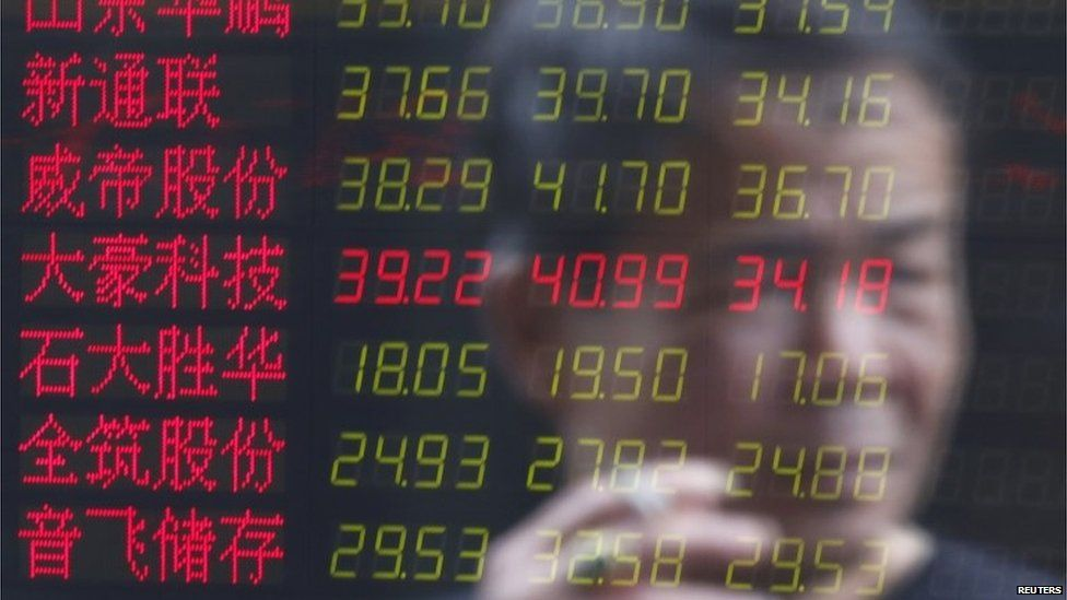Shanghai share brokerage, 3 June 2015