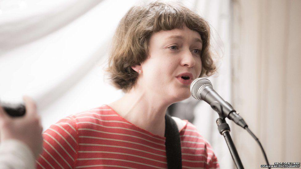 singer-songwriter Brooke Sharkey