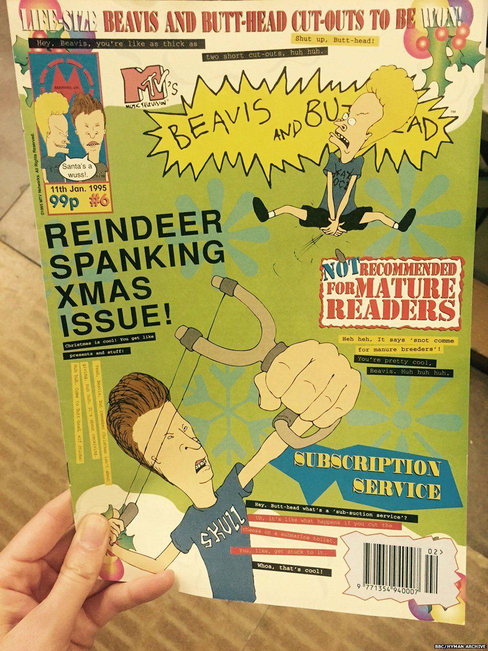 Beavis and Butthead magazine