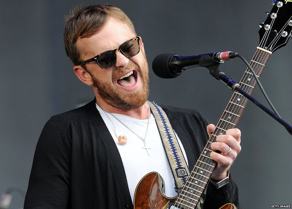 Kings of Leon played the main stage at Big Weekend in Glasgow in 2014