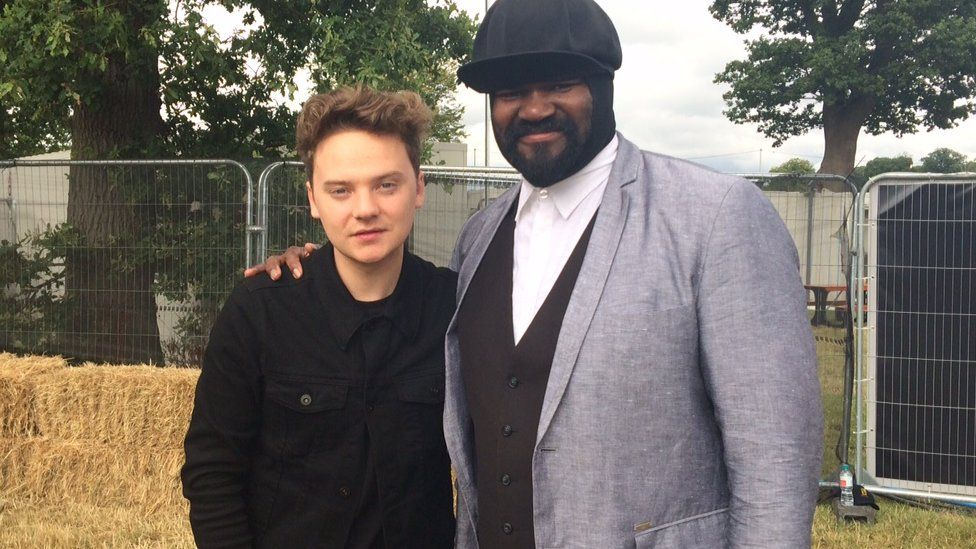 Conor Maynard and Gregory Porter