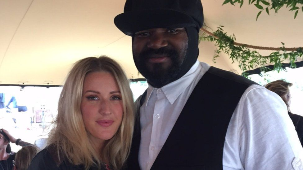 Ellie Goulding and Gregory Porter