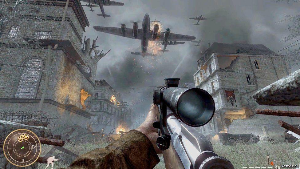 Call of Duty: World at War gameplay