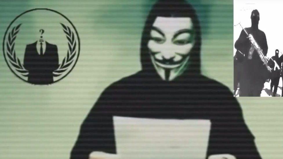 Anonymous video screenshot