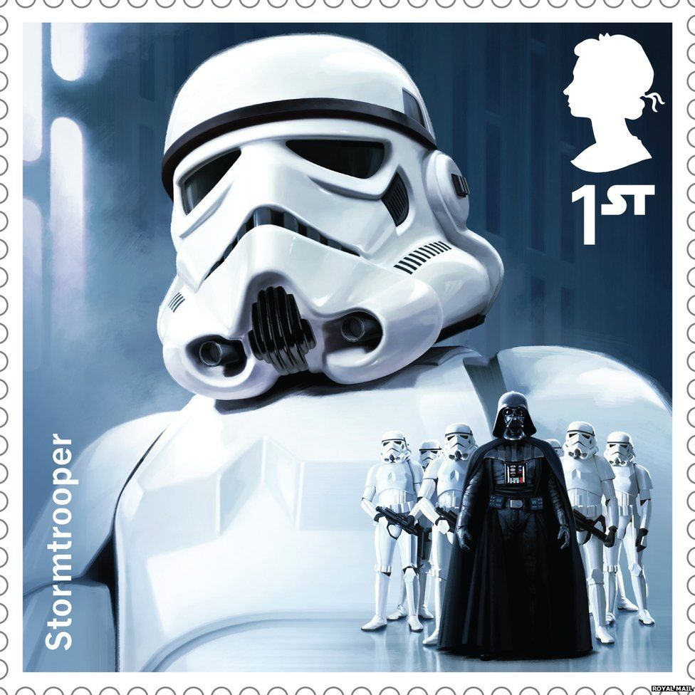 Stormtrooper stamp