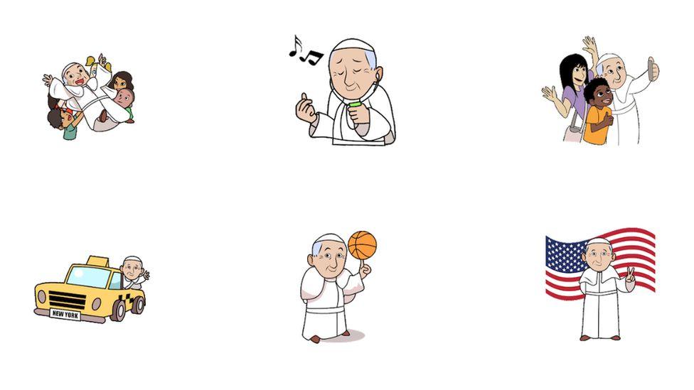 Pope emojis