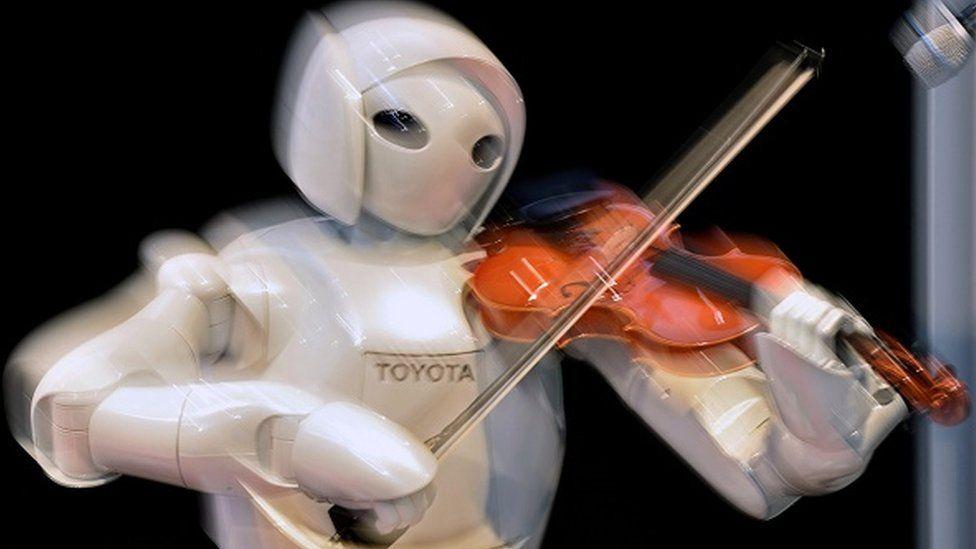 Robot violinist