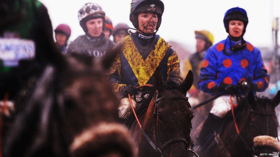 Katie Walsh in action