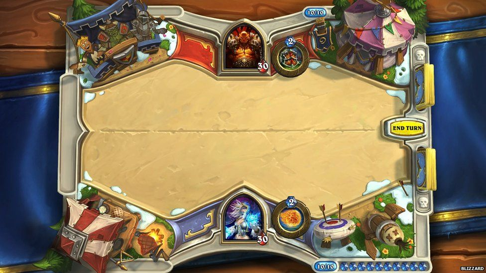 Hearthstone screengrab