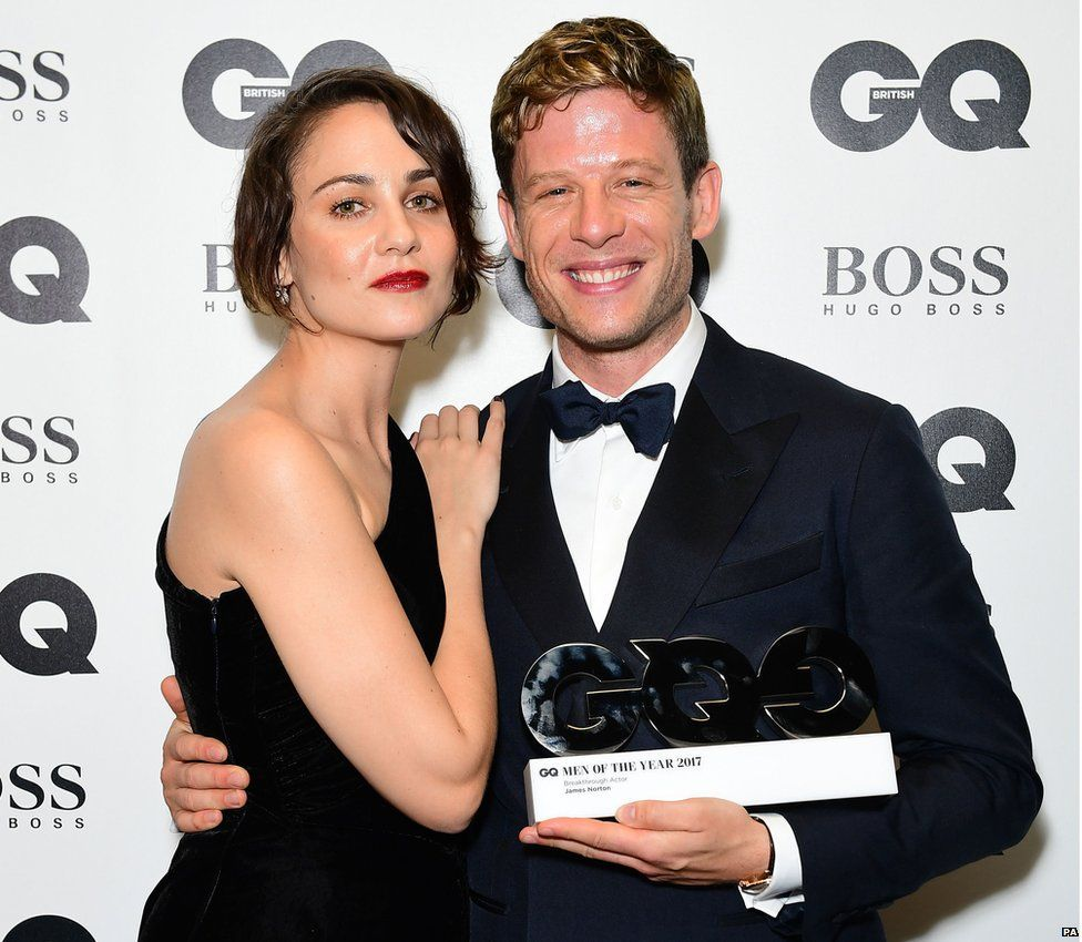 Tuppence Middleton and James Norton