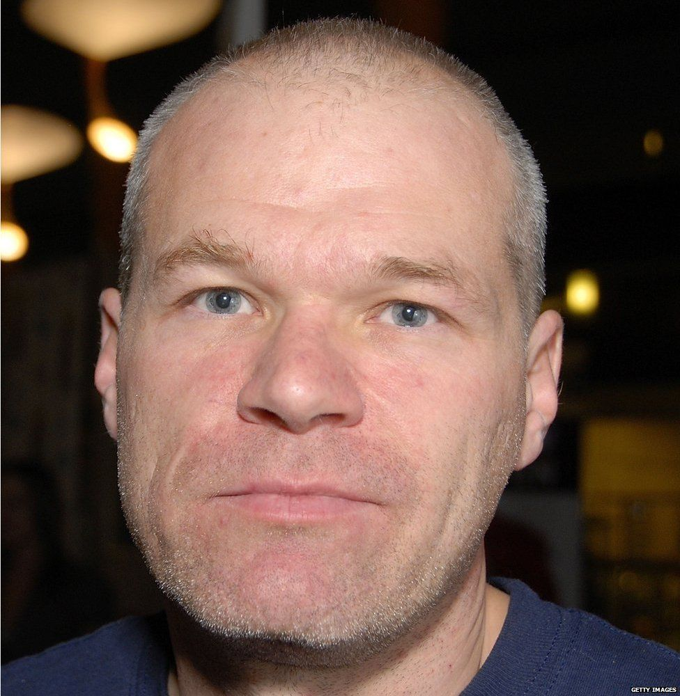 Uwe Boll close up