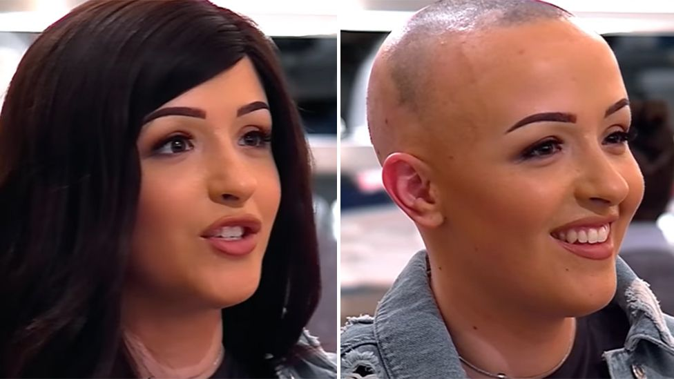First Dates contestant takes off her wig: Everyone cries