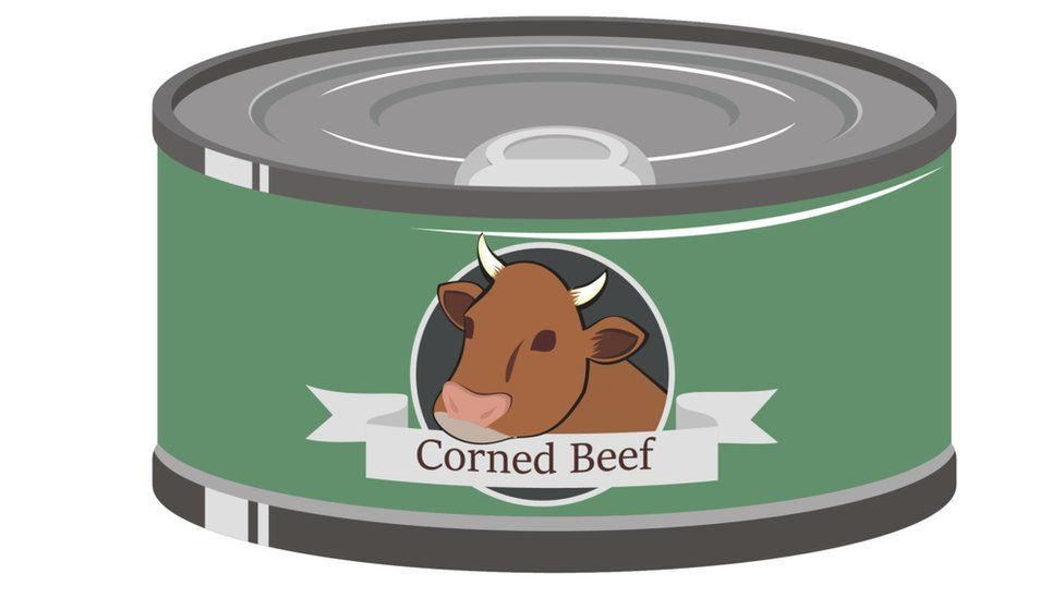 Corned beef can