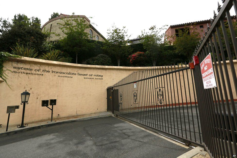 The Sisters of the Immaculate Heart of Mary convent in LA