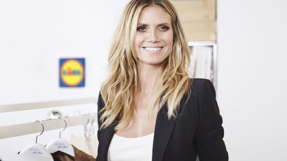 Lidl enlists Heidi Klum to boost its fashion range