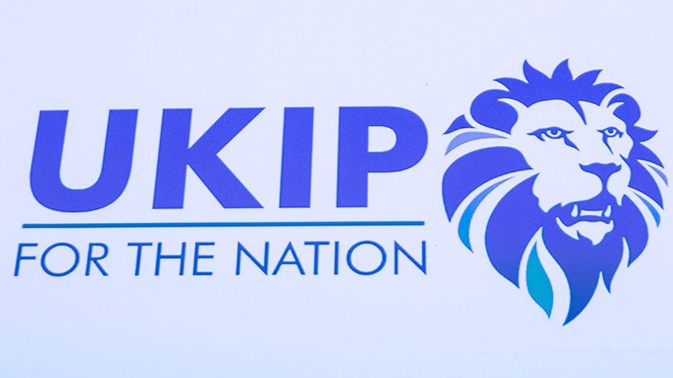 The new UKIP lion logo