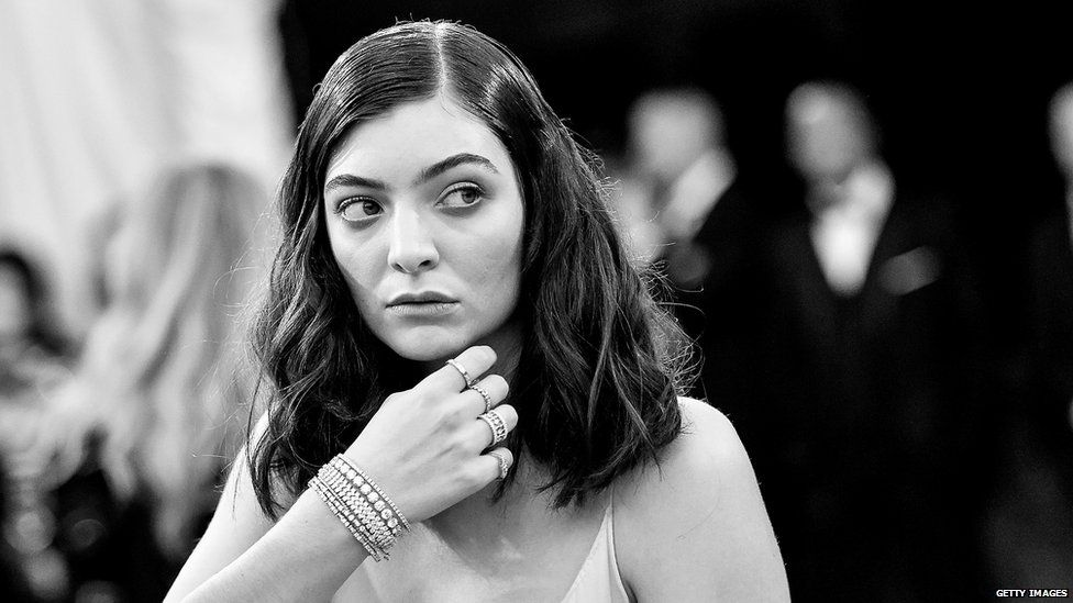 Lorde's new album is called Melodrama