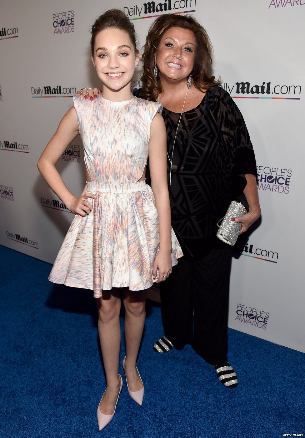Maddie Ziegler and Abby Lee Miller