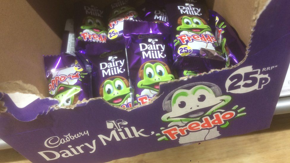 Freddo chocolate bar price increases to 30p causing 'outrage' online | BBC Newsbeat