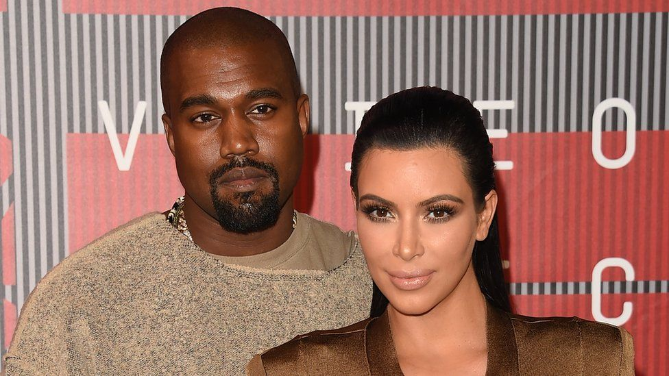 Kim Kardashian-West and Kanye West