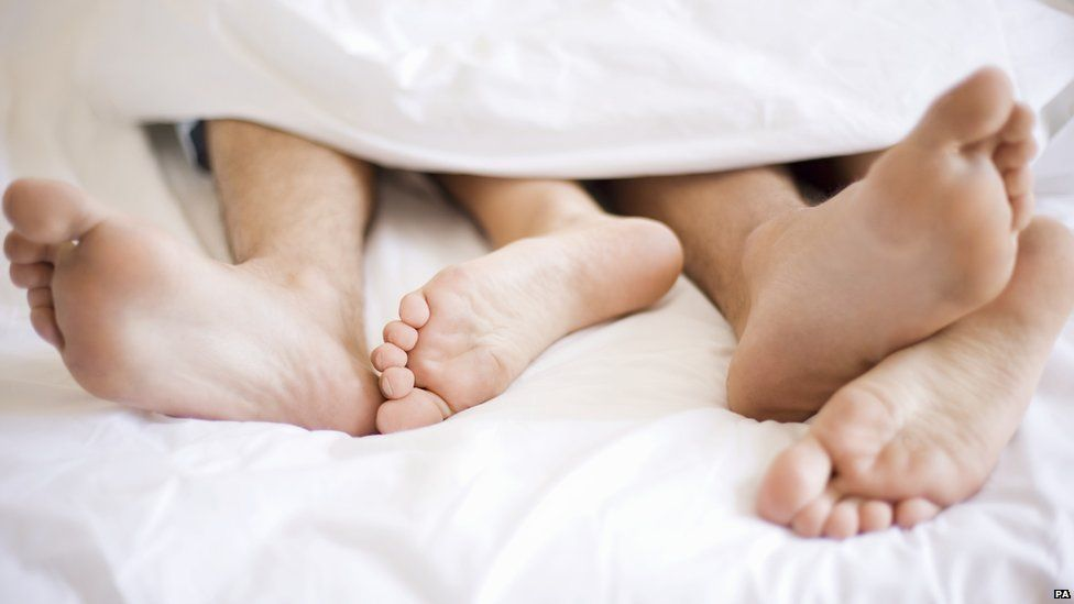 couple's feet