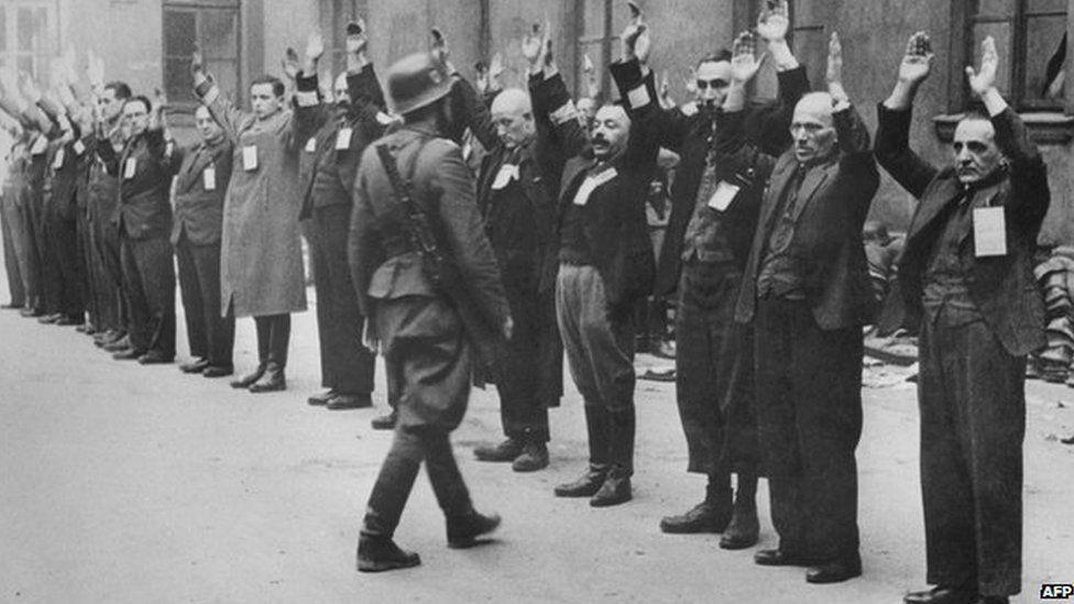 Jewish Ghetto In Poland During World War II