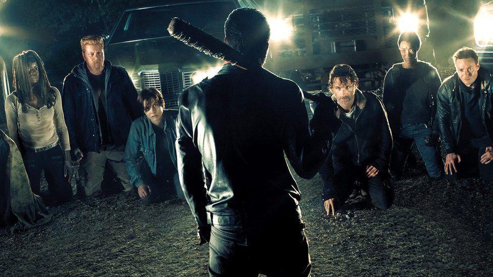 Walking Dead publicity shot