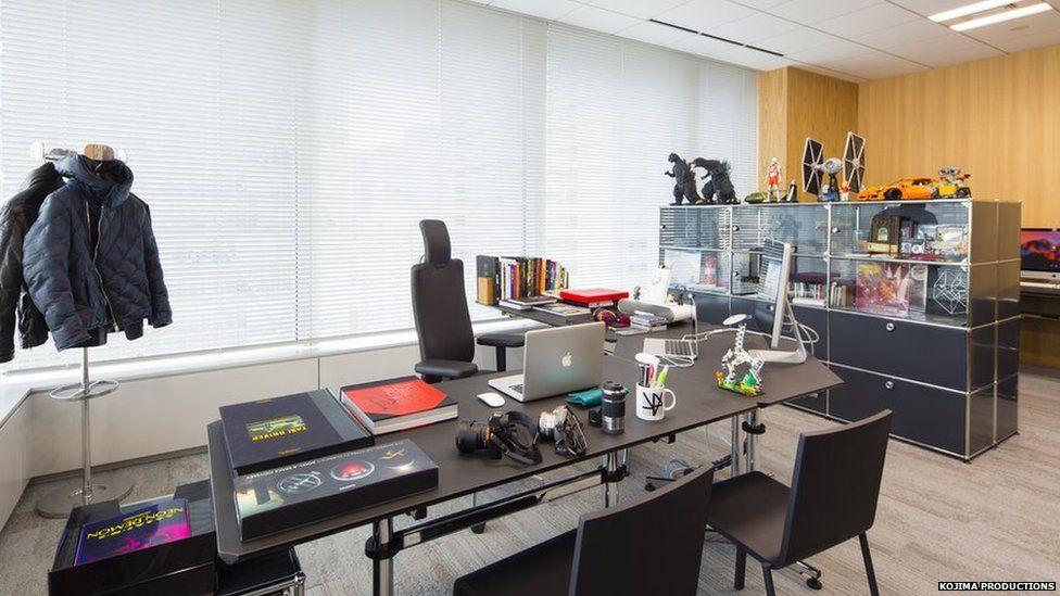Hideo Kojima's office