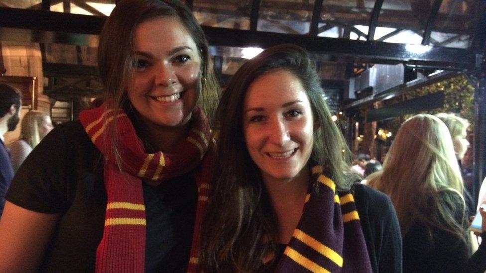 Kaytlen Keller (left) and Mara Kiernan