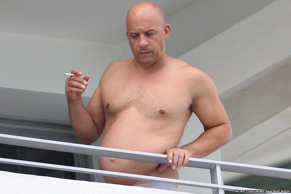Vin Diesel hits back at body-shamers in Instagram photos showing his ...