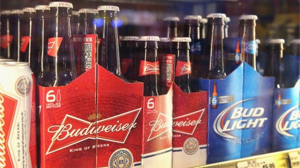 Mini 3oz Budweiser bottles Mini 3oz Budweiser