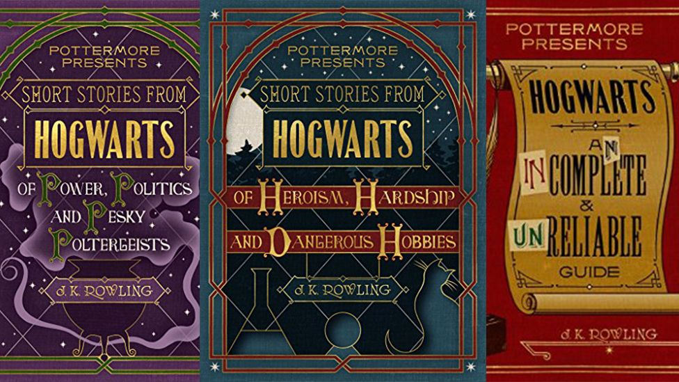 New Hogwart's book covers