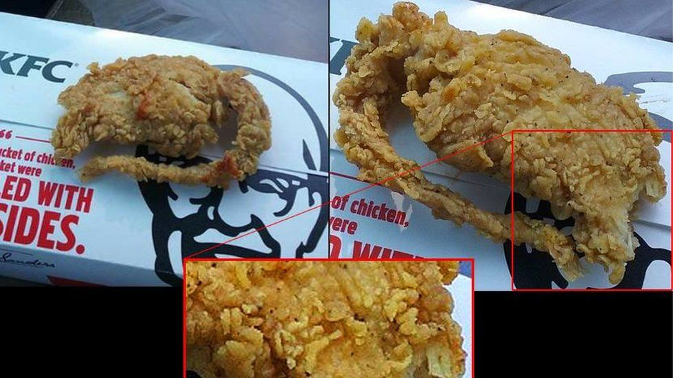 KFC says this was chicken not a rat