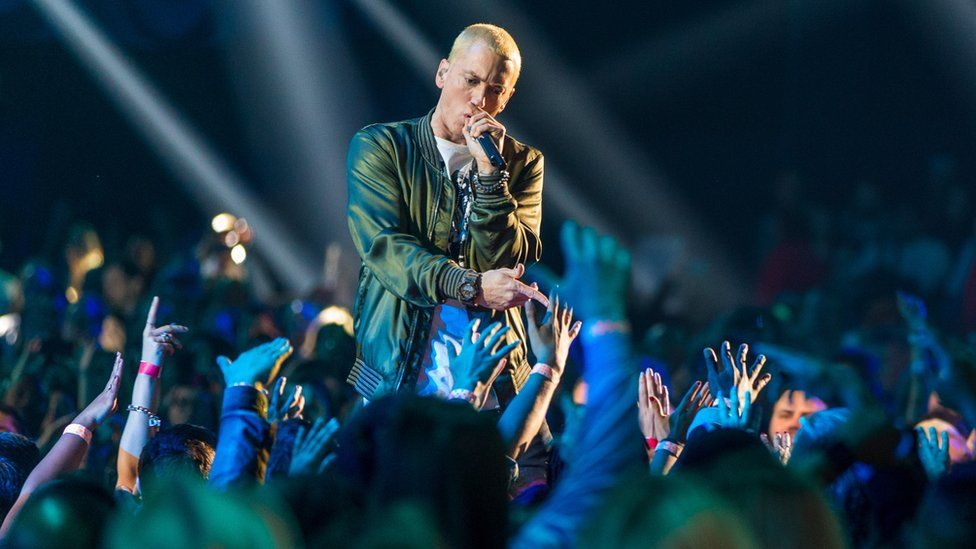 Eminem's selling off bricks and wood from his childhood home