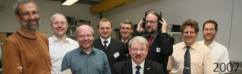 The men behind the MP3 digital audio coding format