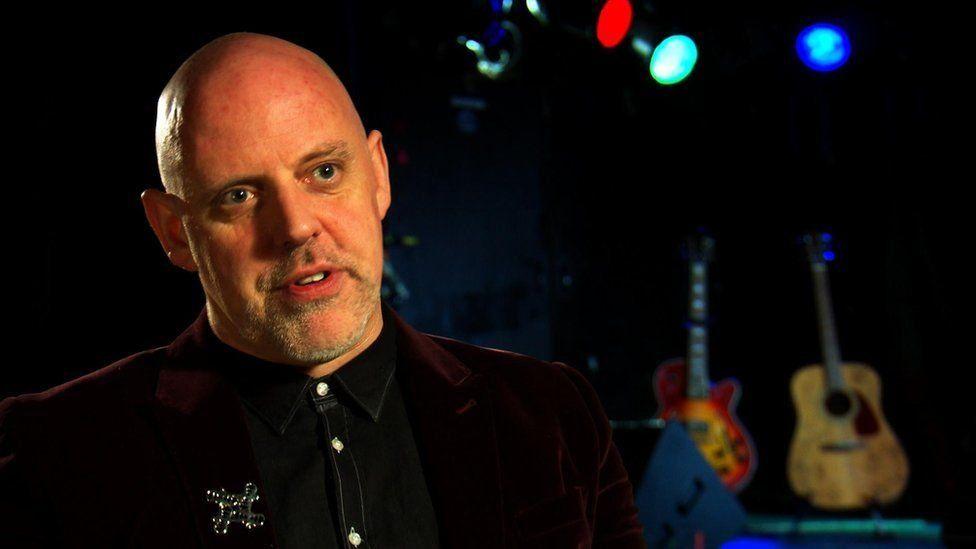 Festival director Geoff Ellis