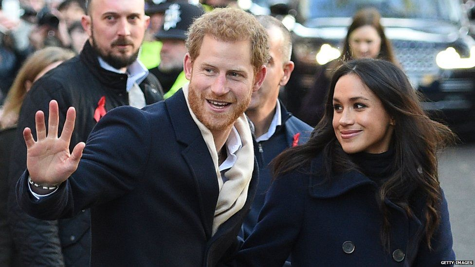 Harry and Meghan in Nottingham